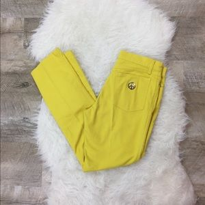 Moschino Jeans Yellow Size 28